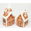 wholesale Home & Living: Gingerbread house XL as a lantern 13,5x8cm