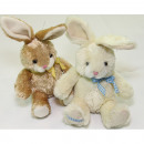 wholesale Toys: Sweet cuddly bunny XL 20x15x13cm with bow