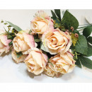 Very noble large LUXURY bouquet of roses 55x28cm