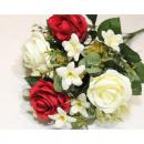 mayorista Casa y decoración: Rosas de alta calidad ramo de LUJO 45x35cm