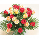 wholesale Artificial Flowers: Bouquet of LUXURY roses with 24 heads