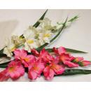 wholesale Decoration: Noble delphinium XL LUXURY 80x20cm white