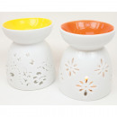 wholesale Crockery: Fragrance lamp LUXUS XL 9x8cm, porcelain