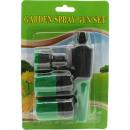 Garden hose accessories set 4 pieces