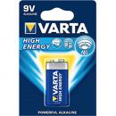 Battery Varta 9 Volt Block High Energy Alkaline