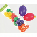Easter eggs 20pcs set with hangers, colors