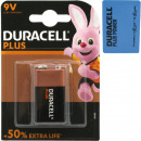 Battery Duracell Plus Alkaline E-Block MN1604