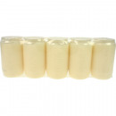 wholesale Candles & Candleholder: Grablicht Öllichttage white 5er Pack