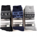 Großhandel Sport & Freizeit: Socken Herren OUTDOOR 3 Paar (Setpreis)