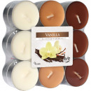 Tealight scent 18 vanilla in block pack