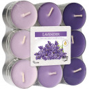 wholesale Home & Living: Tealight scent 18 lavender in block pack