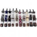 grossiste Vetement et accessoires: Ceinture Stretch 10 combinaisons de couleurs 105-1
