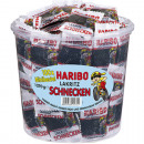 Food Haribo Licorice Snails 100 Minibeutel