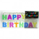 LED Lichterkette Happy Birthday 1,5 Meter lang