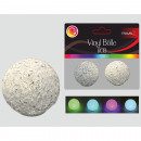 wholesale Toolboxes & Sets: LED ball 5cm, set of 2 !, vinyl, RGB color changin