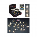 Light chain soft, warm white, 20 LEDs, 3-way sort