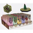 Encens, 40stk. chaque paquet + 1 support décoratif