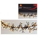 wholesale Light Garlands: Light chain cluster, 192 LED, warm white,