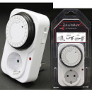 wholesale Electrical Installation: Time switch, plastic, white, programmable