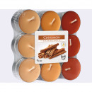 Tealights cinnamon 18-pack, 3 colors assorted , as
