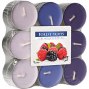 Tealight scent of 18 forest fruits in block pack