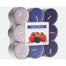 Großhandel Home & Living: Teelichter Duft 18er Waldfrüchte in Blockpack