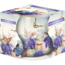 Scented candle motif glass summer morning 100gr