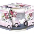 Großhandel Home & Living: Duftkerze Motivglas Blumengruß 100gr