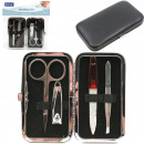 Manicure set & bag 5 pieces with stainless ste