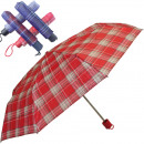 Umbrella 100cm pocket umbrella check design