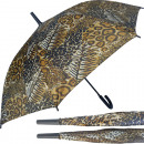 wholesale Bags & Travel accessories: Umbrella 110cm stick automatic leopard