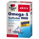 Doppelherz Omega-3 sea fish oil 1000mg 80 capsules