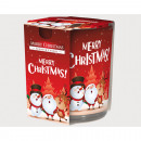 Bougie parfumée Verre design 'Merry Christmas&