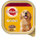 Pet pedigree 3 types of meat 300g dish