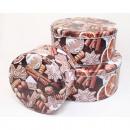 hurtownia Dom & Kuchnia: Zestaw bombonierek z 3 metalowymi wzorami. design,