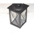 Lantern XL fém 21x16x10cm üvegtáblákkal