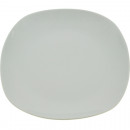 wholesale Crockery: Porcelain dinner plate approx. 27cm white angular
