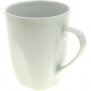 Porcelain coffee bucket white 10x8,5cm, approx. 35