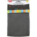 Microfibre dry cloth 40x50cm 300g / m² gray