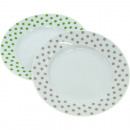 Porcelain cake plate Dots approx. 20cm