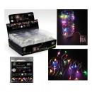 Huzal sztring 20iger LED többszínű, 200cm