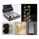 wholesale Light Garlands: Wire string MICRO-LED star chain