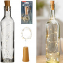 Bottle corks with 10 LED light string