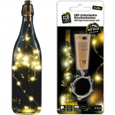 wholesale Light Garlands: LED fairy lights Bottle corks 10 LEDs warm white