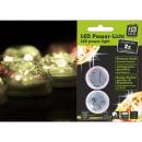 Großhandel Sonstige: LED Lichtzauber Diamanten 2er, je 3 LEDs