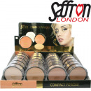 wholesale Make up: Compact powder Saffron in the Display