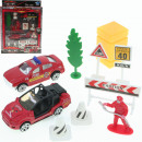 Playset Firefighters I 4- times assorted 1:64 scal