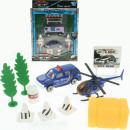Playset Police Set II 4- times assorted Scale 1: