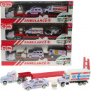wholesale Toys: Play set ambulance 4- times assorted 1:64 scale
