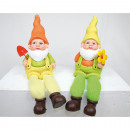 wholesale Garden & DIY store: Rimless garden gnome with metal tool XL